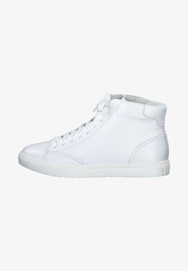 Baskets montantes - white uni