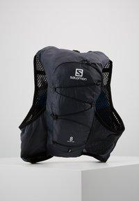 Salomon - ACTIVE SKIN - Turistický ruksak s hydrovakem - ebony/black - 3