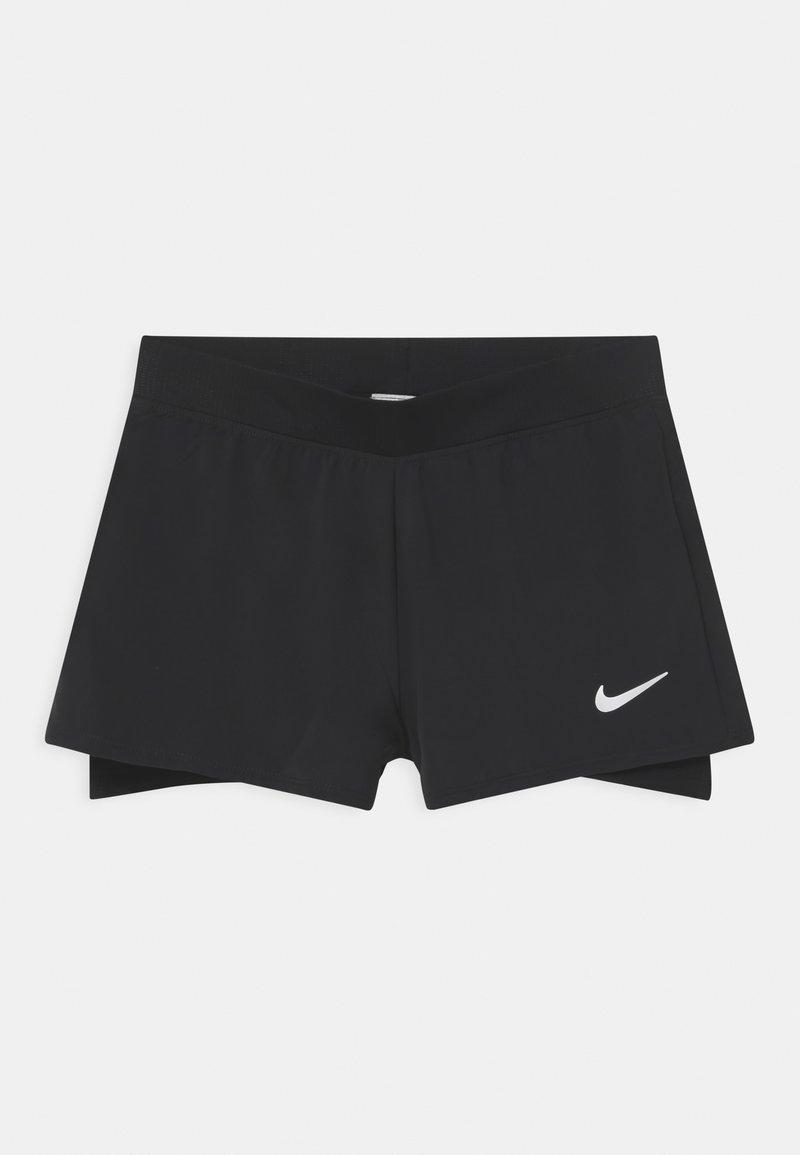 Nike Performance - Sportovní kraťasy - black/white
