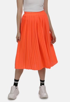 ROCK - A-line skirt - neon orange