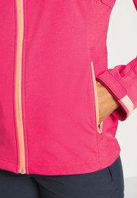 Icepeak - BOISE - Soft shell jacket - coral red - 6