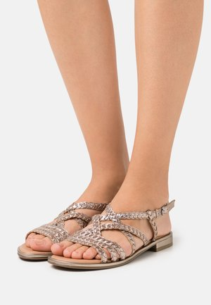 Sandals - taupe metallic