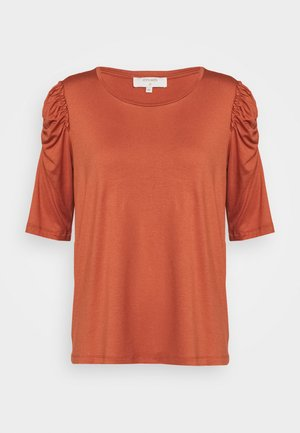 LILA - Print T-shirt - baked clay