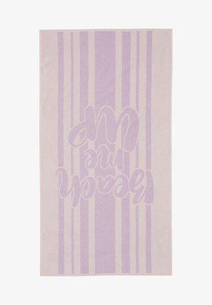 Strandhanddoek - purple