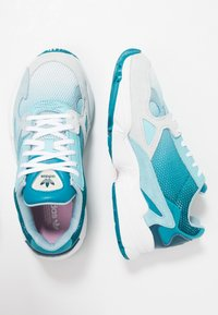 adidas Originals - FALCON - Matalavartiset tennarit - blue tint/light aqua/ash grey - 3