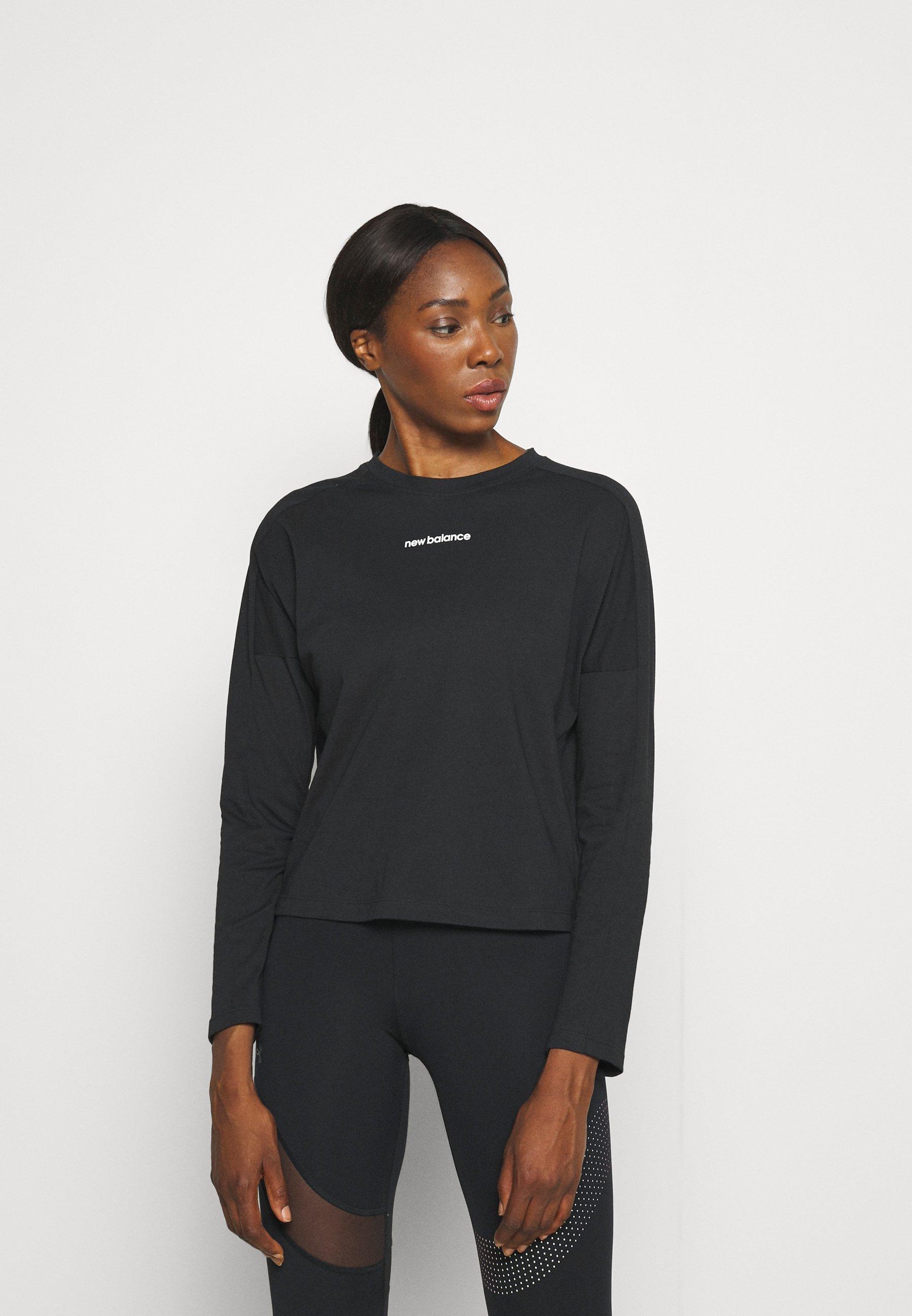 Women RELENTLESS LONG SLEEVE TEE - Long sleeved top