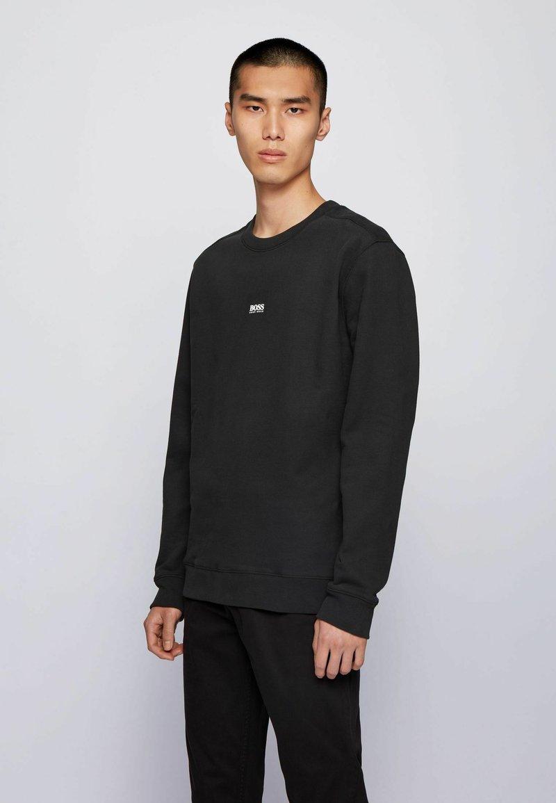 BOSS - WEEVO - Sweater - black