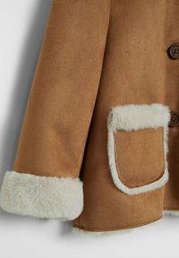 Mango - DOBLE7B - Zimní kabát - hnědá - 3