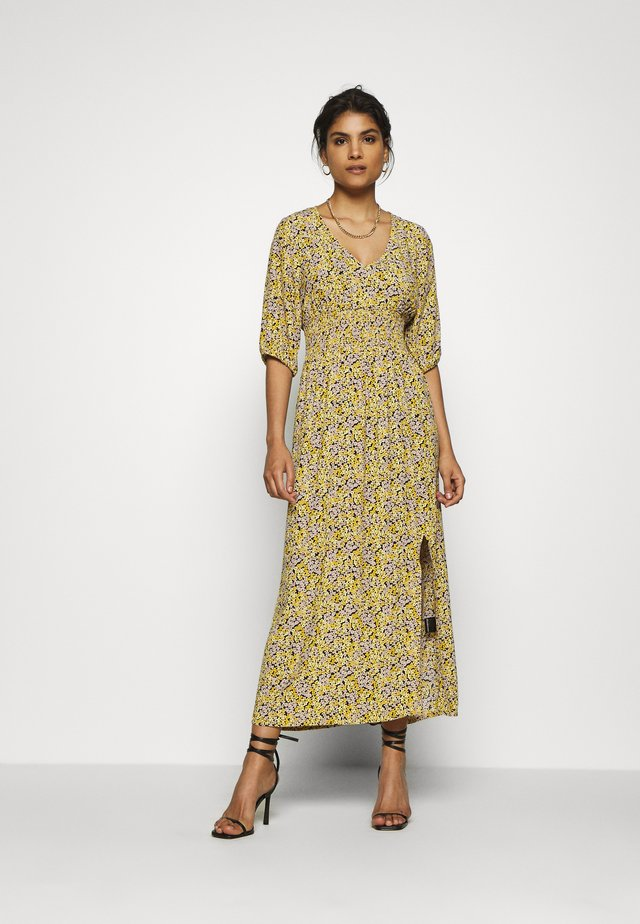 ELLA DRESS - Robe longue - yellow
