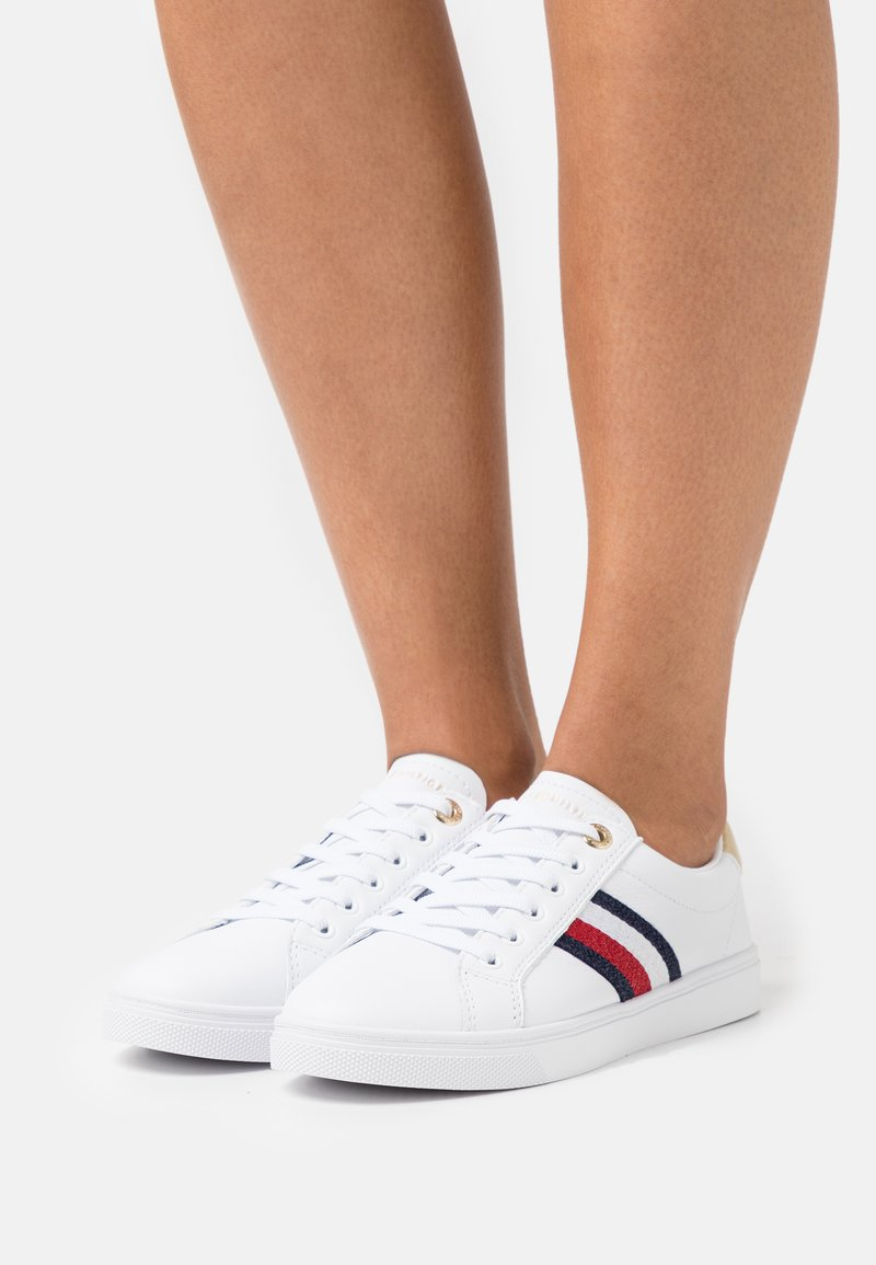 Tommy Hilfiger - CORPORATE CUPSOLE  - Trainers - white