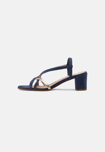 ANAIS - Sandals - marine or