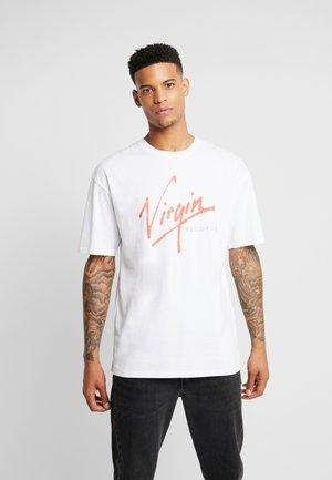 VIRGIN RECORDS - T-shirt imprimé - white no wash