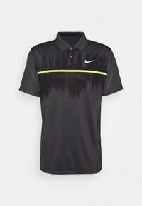Nike Golf - DRY VAPOR - Funkční triko - smoke grey/black/lemon/white - 3