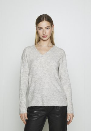 VMCREWLEFILE - Pullover - light grey melange