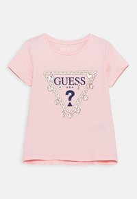 Guess - TODDLER - T-shirt imprimé - alabaster pink - 0