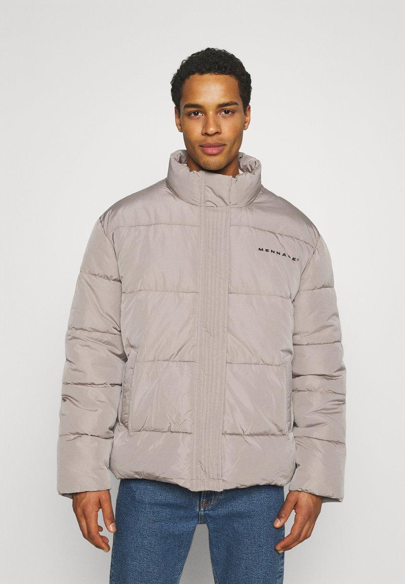 Mennace - MOONDUST REGULAR PUFFER JACKET UNISEX - Winter jacket - grey
