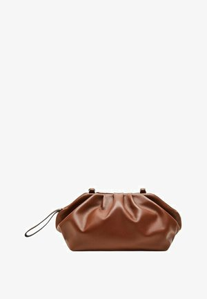 PUFFY-I - Clutch - chocolate