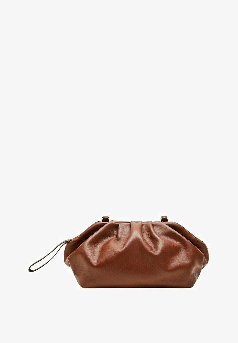 Violeta by Mango - PUFFY-I - Clutch - chocolate