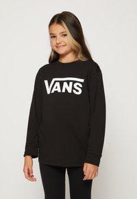 Vans - BY VANS CLASSIC LS BOYS - Pitkähihainen paita - black/white - 0