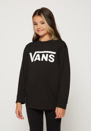 BY VANS CLASSIC LS BOYS - Långärmad tröja - black/white