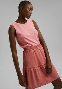 Esprit - A-line skirt - blush - 3