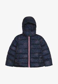 Lemon Beret - SMALL GIRLS JACKET - Winter jacket - dark blue/light pink - 4