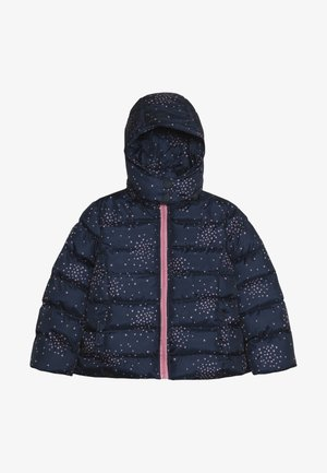 SMALL GIRLS JACKET - Winter jacket - dark blue/light pink