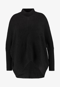 CAPSULE by Simply Be - ELEVATED ESSENTIALS HIGH NECK DETAIL JUMPER - Jumper - black - 4