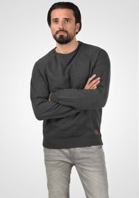 Blend - SWEATSHIRT ALEX - Sweatshirt - charcoal - 0