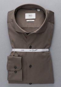 Eterna - SLIM FIT - Formal shirt - taupe - 4