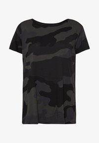 G-Star - ALLOVER TOP - T-shirts med print - raven - 4