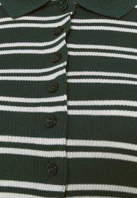 BDG Urban Outfitters - STRIPED CARDI - Langarmshirt - green - 2