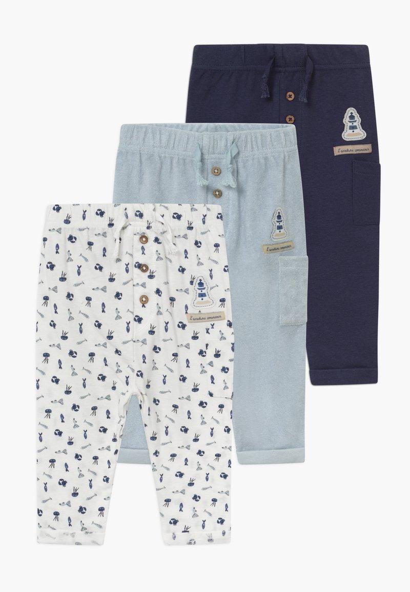 Jacky Baby - MON PETIT 3 PACK - Pantalon classique - light blue
