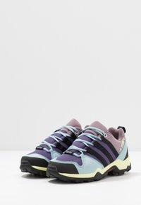 adidas Performance - TERREX AX2R RAIN.RDY - Trekingové boty - tech purple/core black/legend purple - 3