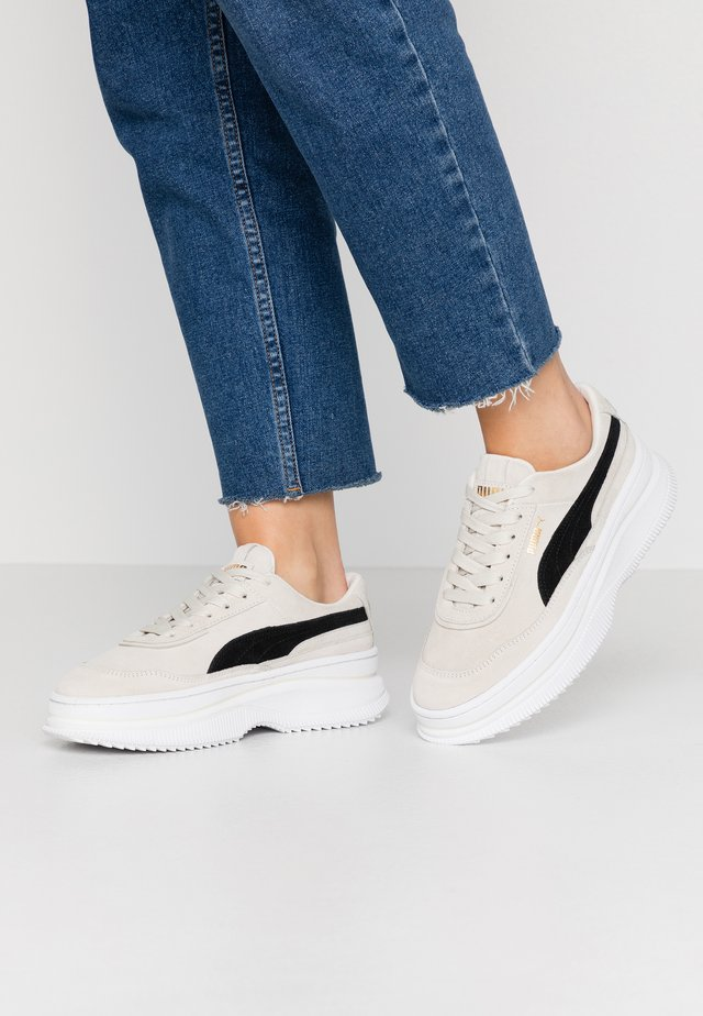 DEVA  - Sneakers laag - marshmallow/black