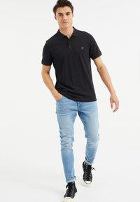 WE Fashion - Poloshirt - black - 1