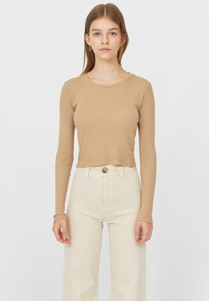 Pitkähihainen paita - light brown