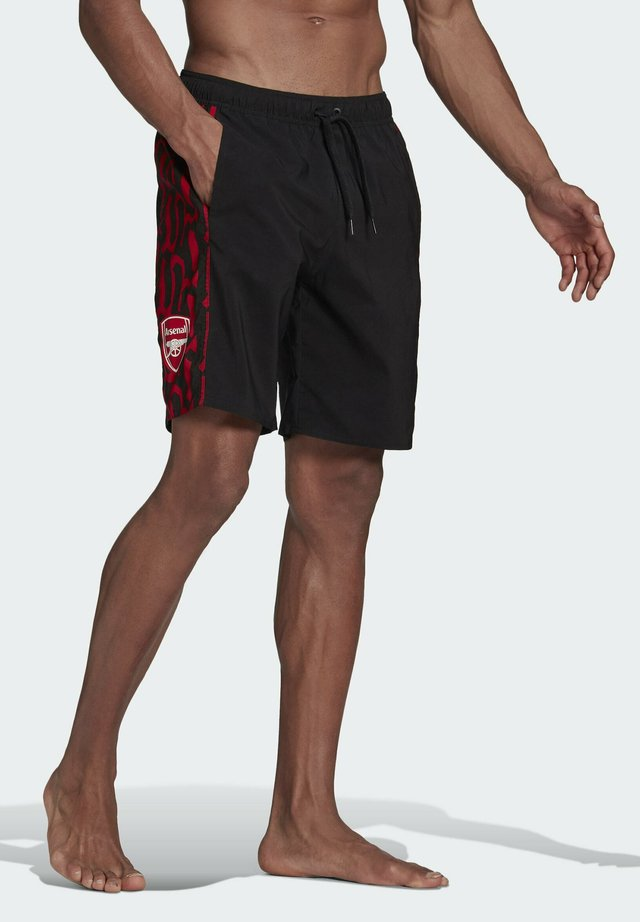ARSENAL SWIM SHORTS - Short de bain - black, red