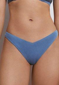 OYSHO - Bikini bottoms - blue - 0
