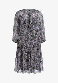 SET - Day dress - black violett - 6