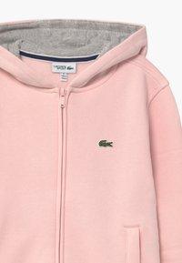 Lacoste Sport - TENNIS - Zip-up hoodie - nidus/silver chine - 2