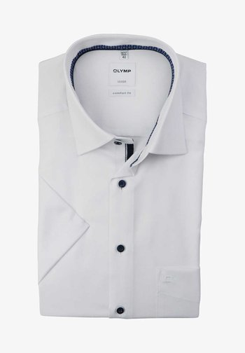COMFORT FIT - Shirt - weiß
