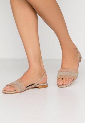 Sandals - new bisquet/fango
