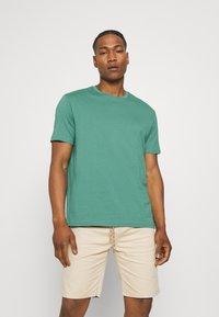 YOURTURN - 2 PACK UNISEX - T-shirt basic - black/green - 3