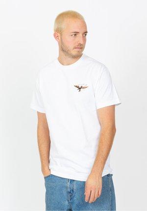 MARCUS - T-shirt print - white