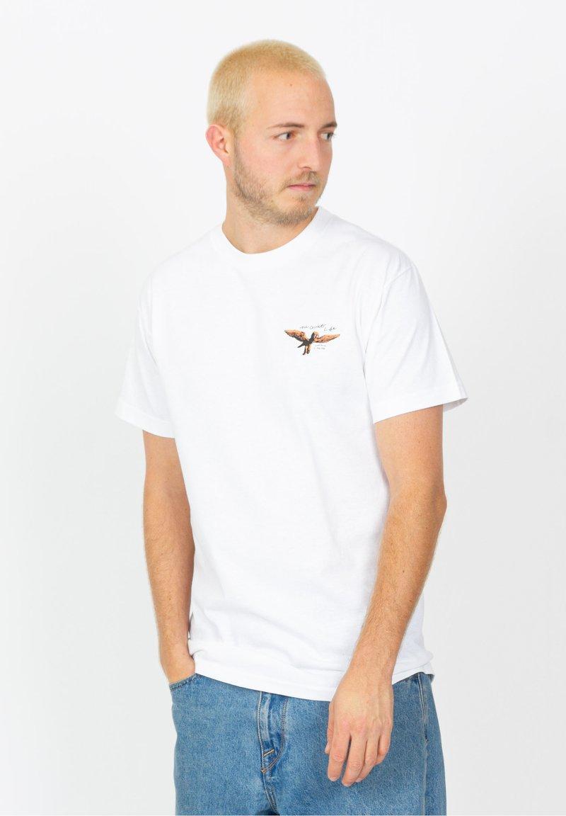 The quiet life - MARCUS - T-shirt imprimé - white