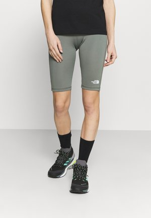 FLEX SHORT  - Tights - agave green