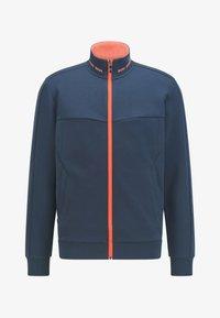 BOSS - SKAZ - Zip-up sweatshirt - dark blue - 4