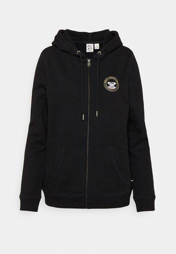 Zip-up sweatshirt - anthracite