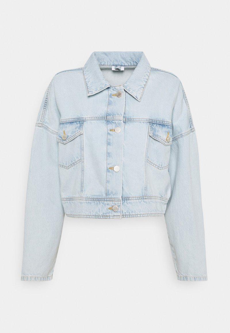 Marc O'Polo DENIM - JACKET OVERSIZED FIT CROPPED LENGTH - Veste en jean - blue
